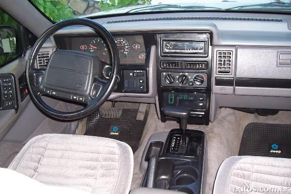 Ars jeep grand cherokee laredo con fotos en mar del plata a o 1993 gnc 1993 jeep grand cherokee interior