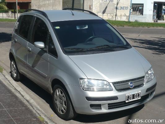 Ars fiat idea 1 8 hlx con fotos en lan s a for Fiat idea hlx 1 8 2006 caracteristicas