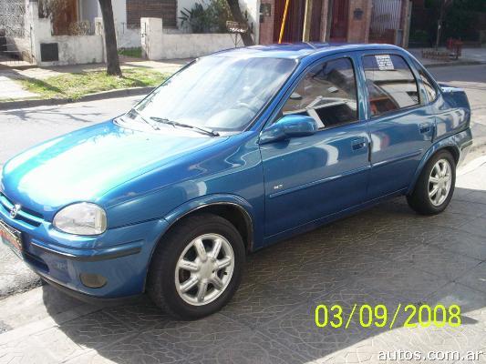 Ars 2 600 Chevrolet Corsa 1 6 Gls Mpfi 4p Con Fotos En La