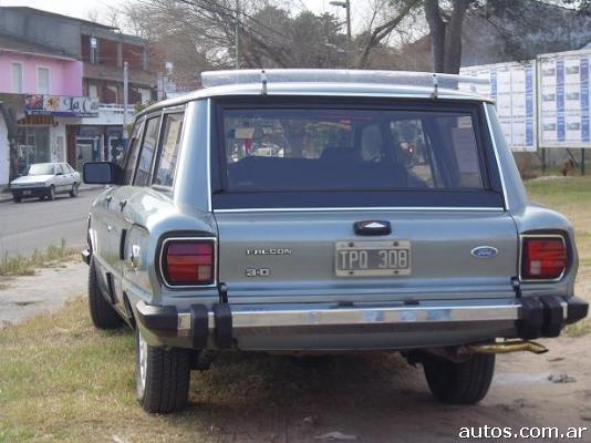 Ars 23 000 Ford Falcon Rural Con Fotos En Villa