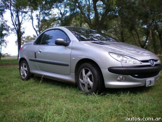 Ars peugeot 206 cc cabriolet 1 6 con fotos en la plata a o 2001 nafta - Alfombras peugeot 206 ...