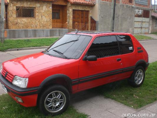 ars peugeot 205 xs full full con fotos en quilmes a o 1992 nafta. Black Bedroom Furniture Sets. Home Design Ideas