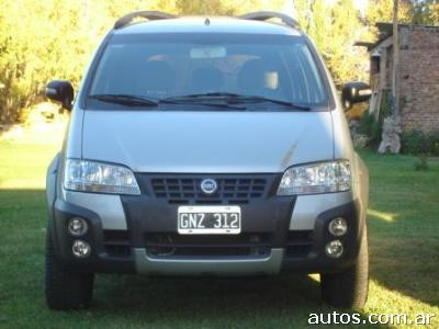 ars fiat idea 1 8 adventure con fotos en