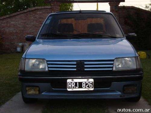 ars peugeot 205 xs con fotos en c rdoba capital a o 1992 gnc. Black Bedroom Furniture Sets. Home Design Ideas