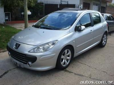 ars peugeot 307 xs premium hdi 2 0 con fotos en r o turbio a o 2007 diesel. Black Bedroom Furniture Sets. Home Design Ideas