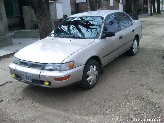Corolla DX FULL (con fotos!) en General Pico, a�o 1995, Nafta