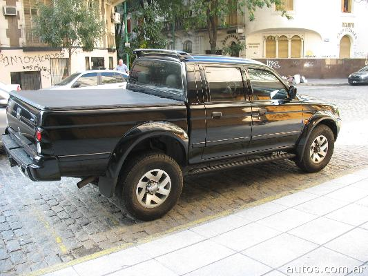 us mitsubishi l200 sport hpe 4x4 con fotos en luj n a o 2006 diesel. Black Bedroom Furniture Sets. Home Design Ideas