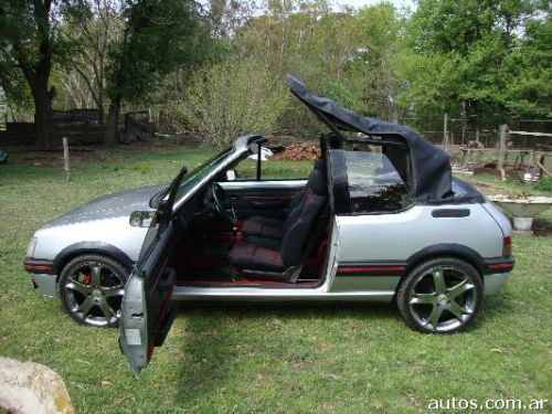 peugeot 205 1 6 cti cabriolet con fotos en bol var a o 1993 nafta. Black Bedroom Furniture Sets. Home Design Ideas