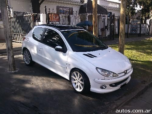 ars peugeot 206 xs premium 3 p con fotos en comandante luis piedrabuena a o 2007. Black Bedroom Furniture Sets. Home Design Ideas