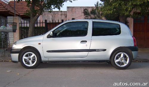 ars renault clio sport con fotos en villa mercedes a o 2001 nafta. Black Bedroom Furniture Sets. Home Design Ideas