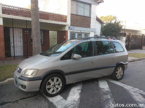 Ars 102000 Chevrolet Zafira Gls 16v Cuero 7 Asie Con Fotos En